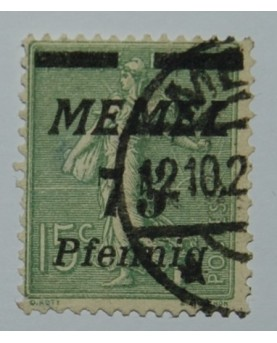 Klaipėda/Memel. Mi 85, ʘ