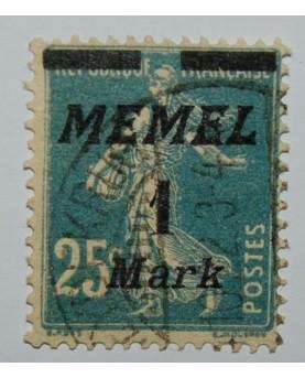 Klaipėda/Memel. Mi 86, ʘ