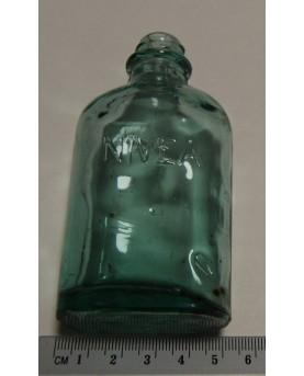 Senovinis butelis su užrašu...