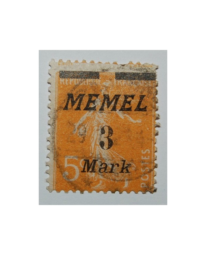 Klaipėda/Memel, Mi 110, ʘ