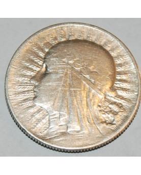 Lenkija. 5 zlotych, 1933 m....