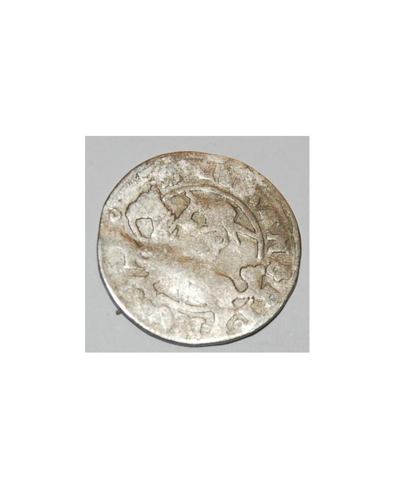 LDK. Aleksandras Jogailaitis. Pusgrašis. Renesansas. Moneta iš lobio, nevalyta.