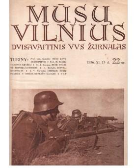 """Laikraštis """"Mūsų Vilnius"""",..."""