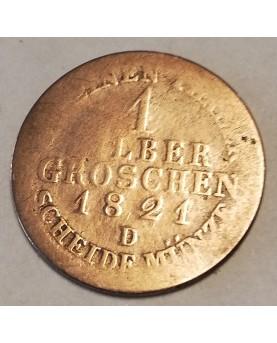 Vokietija/Prūsija. 1 Silber...