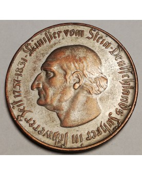 Vokietija. 10000 Mark, 1923 m.