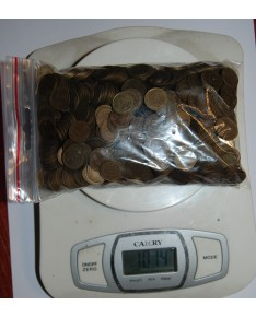 Sovietų Sąjunga. 1 kapeika, 1000 vnt, 1 kg (1961-1991)