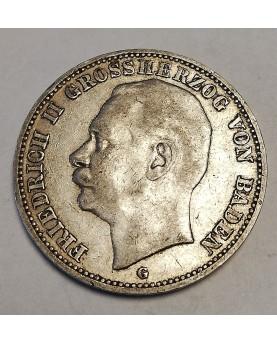 Vokietija. 3 Mark, 1909 m....