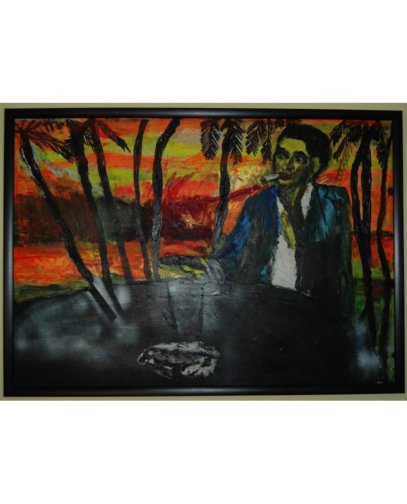 Mindaugas Jankauskas, paveikslas, 100x70 cm, 2013 m.