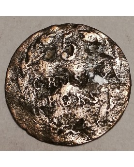 Lenkija. 5 groszy, 1825 m.