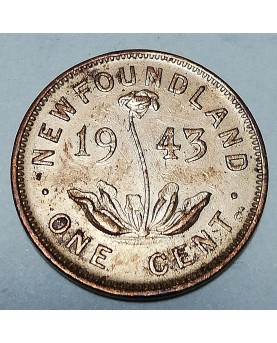 Kanada/Canada. 1 cent, 1943, UNC. NEW FOUNDLAND