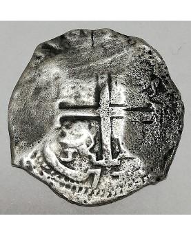 Bolivija/Bolivia. 8 reales, 1677 PE,  POTOSI