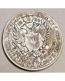 Lenkija. 5 zlotych, 1830...