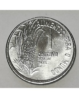 Brazilija/Brasil. 1 Centavo, 1975 m. FAO. UNC