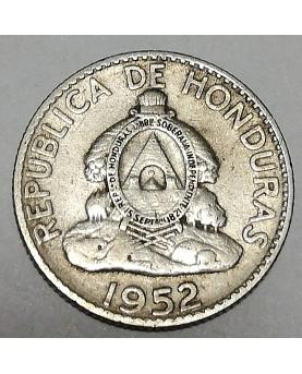Honduras/Hondūras. 20 centavos, 1952 m.