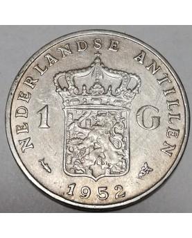 Nyderlandų Antilai/Neth. Antilles. 10 Gulden, 2001 m., Tiražas - tik 560 vnt., PROOF