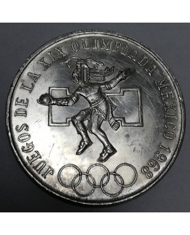 Meksika/Mexico. 25 pesos, 1968 m. OLIMPIADA