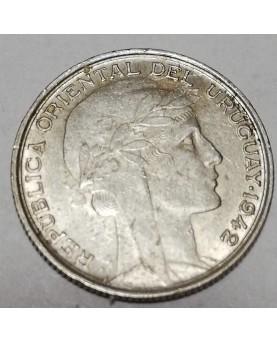 Urugvajus/Uruguay. 20 Centesimos, 1942 m.