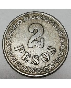 Paragvajus/Paraguay. 10 Centavos, 1900 m.
