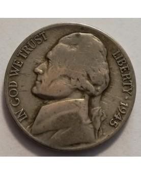 JAV/United States. 5 cents,...