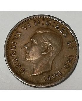 Kanada/Canada. 1 cent, 1938 m.