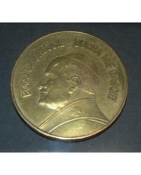 Medalis su popiežiaus Jono Pauliaus II atvaizdu