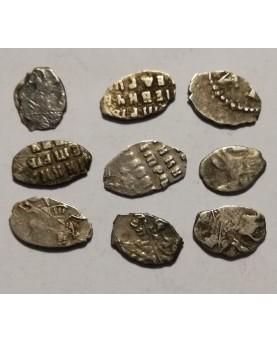 Rusija. Petras I Didysis. Kapeika (10 vnt), apie 1700 m.