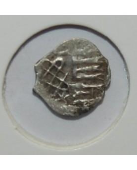 Vladimiras Algirdaitis. 1/4 denaro (Podražanije). Mažiausia iš žinomų šio tipo monetų, 1362-1395 m. (1-039)