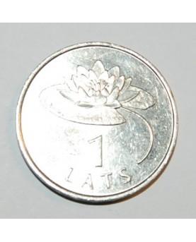 Latvija. 1 lats, 2008 m.,...