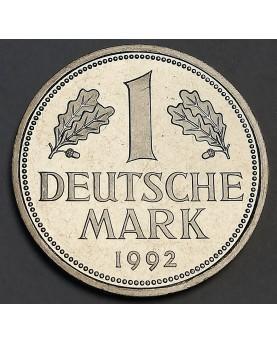 Vokietija. 1 DM, 1992 m. D,...