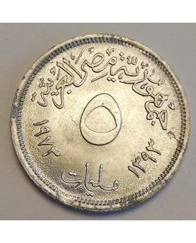 Egiptas/Egypt. 5 milliemes,...