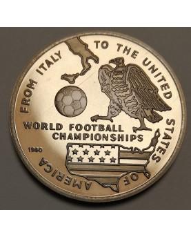 Afganistanas/Afghanistan. 100 afghanis, 1990 m., FIFA CUP 1990
