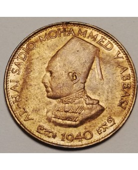 Indija/India. Half Pice, 1940 m. BAHAWALPUR