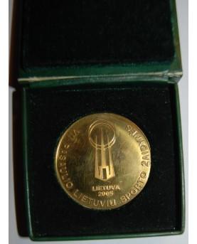 """Medalis """"Lietuvos teismams 90 metų"""""""