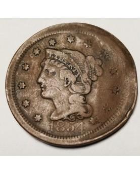JAV/United States. 1 cent,...