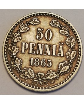 Suomija/Finland. 50 Pennia,...