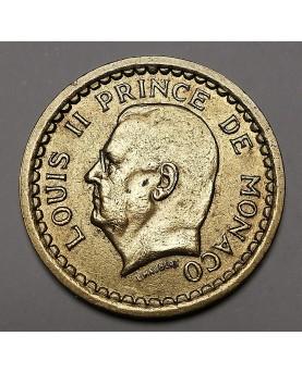 Monakas/Monaco. 1 Franc, 1945