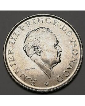 Monakas/Monaco. 2 Francs, 1981