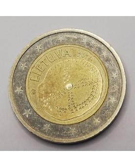Lietuva. 2 Euro, 2016 m.,...