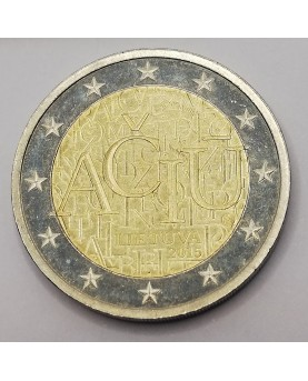 Lietuva. 2 Euro, 2015 m.,...