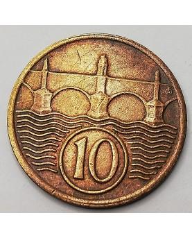 Čekoslovakija. 10 Haléřů, 1937
