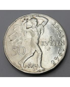 Čekoslovakija. 50 Korún,...