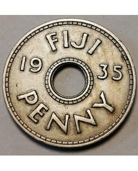 Fidžis/Fiji. 1 Penny, 1935