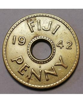 Fidžis/Fiji. 1 Penny, 1942