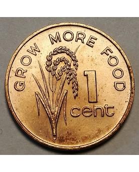 Fidžis/Fiji. 1 Cent, 1977,...