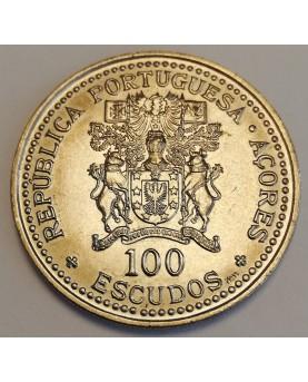 Azorai/Azores. 100 Escudos,...