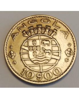 Angola. 10 Escudos, 1969 m.