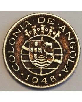 Angola. 50 Centavos, 1948 m.
