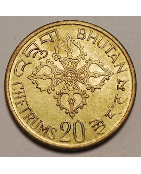 Butanas. 20 Chetrums, 1976...