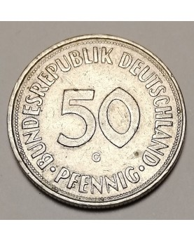 Vokietija. 50 Pfennig, 1950...
