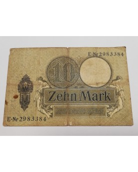 Vokietija. 10 Markių, 1906...
